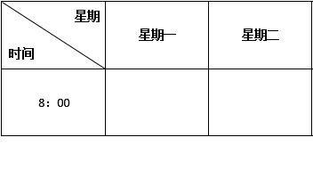 word表格斜线怎么添加?